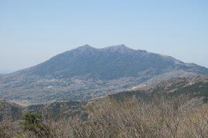 宝篋山より筑波山